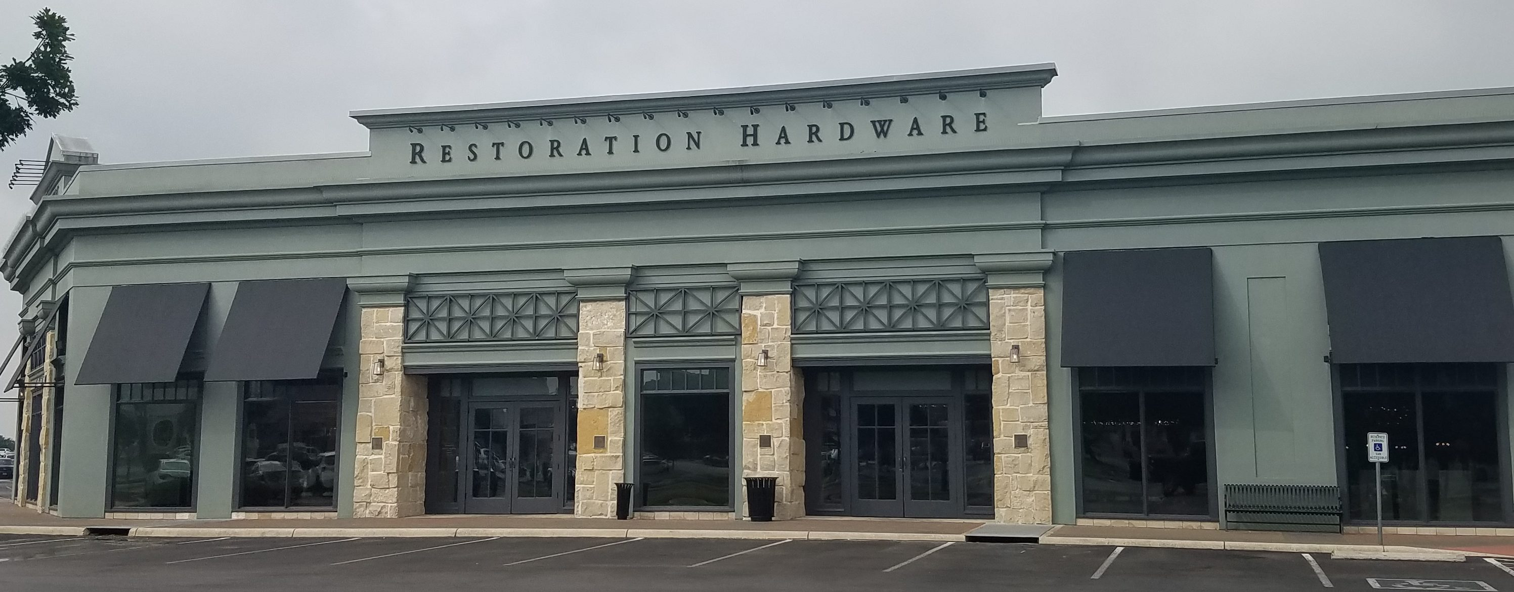 Restoration Hardware tinted